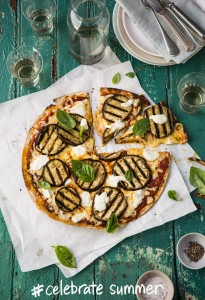Pizza Aubergine