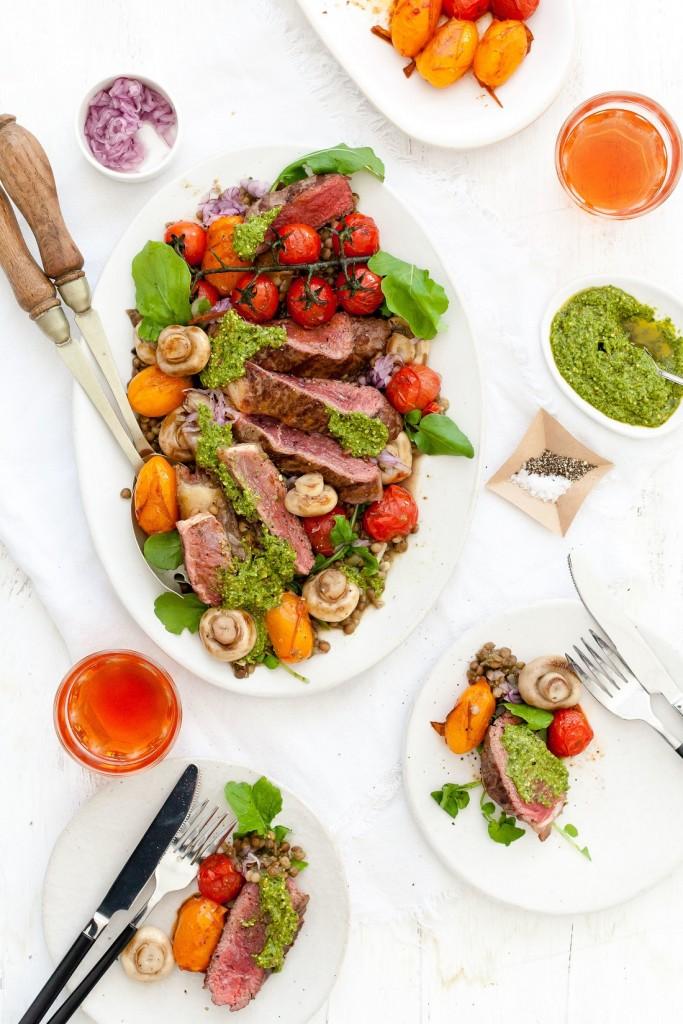 Pesto Princess © Steak Salad