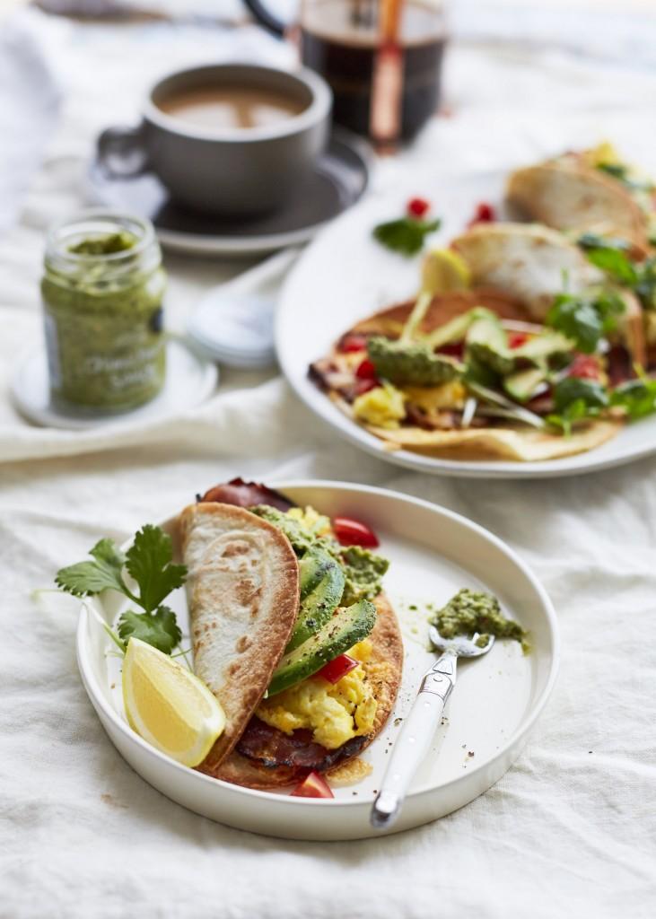 Pesto Princess © Breakfast Tacos