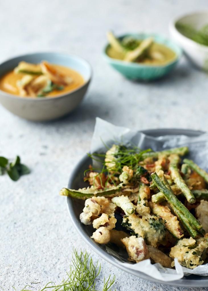 Pesto Princess © Crunchy Tempura Veggies