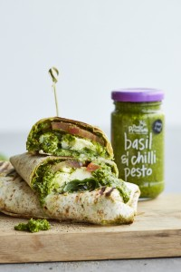 Pesto Princess © Caprese Wrap
