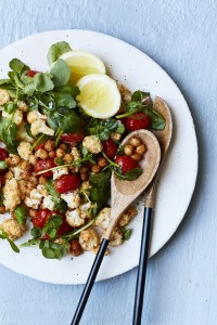 Pesto Princess © Chickpea, Cauliflower & Harissa Salad