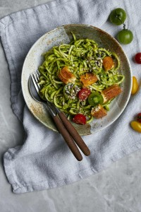 Pesto Princess © Green Goddess Pasta with Basil and Lemon Pesto