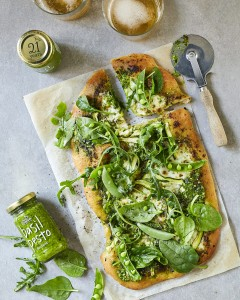 Pesto Princess © Green Goddess Pizza