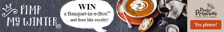 Win a Banquet-in-a-Box™