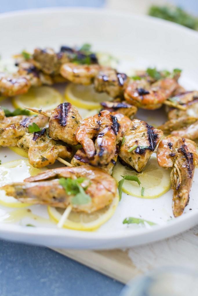 Seafood Skewers 1