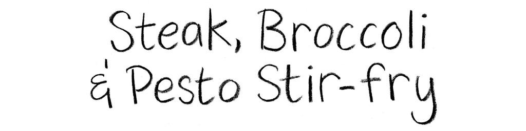 steak-broccoli-pesto-stirfry