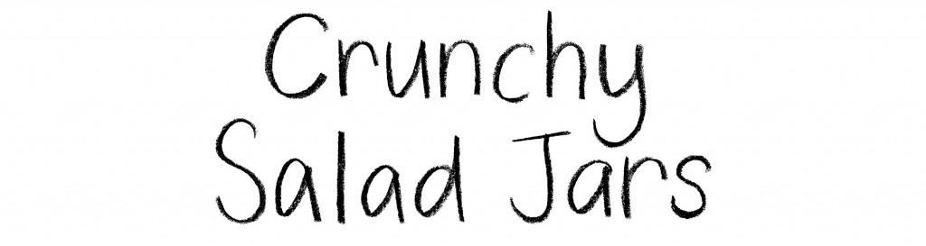 Crunchy Salad Jars