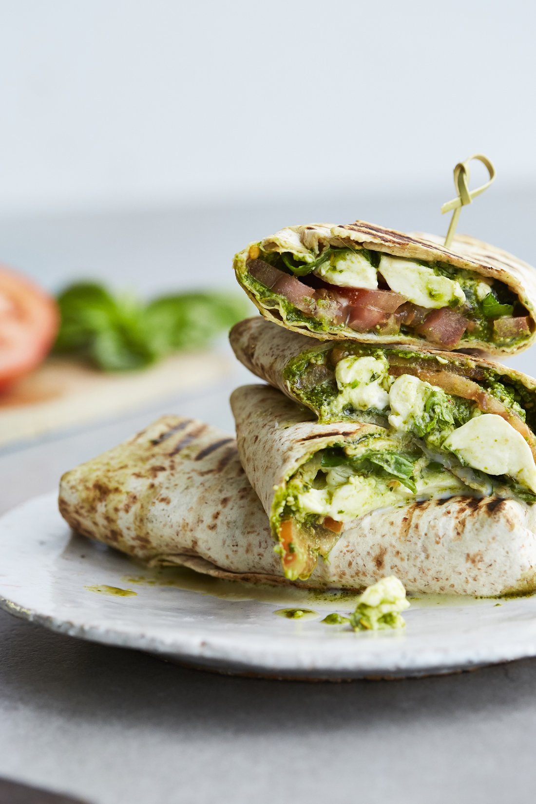MICHELLE PARKIN PHOTOGRAPHY__HIGH RES_BASIL & CHILLI _CAPRESE WRAP_PESTO PRINCESS_EmptyName 21