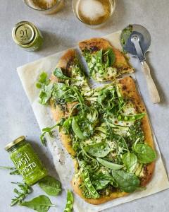 Pesto Princess © Green Goddess Pizza