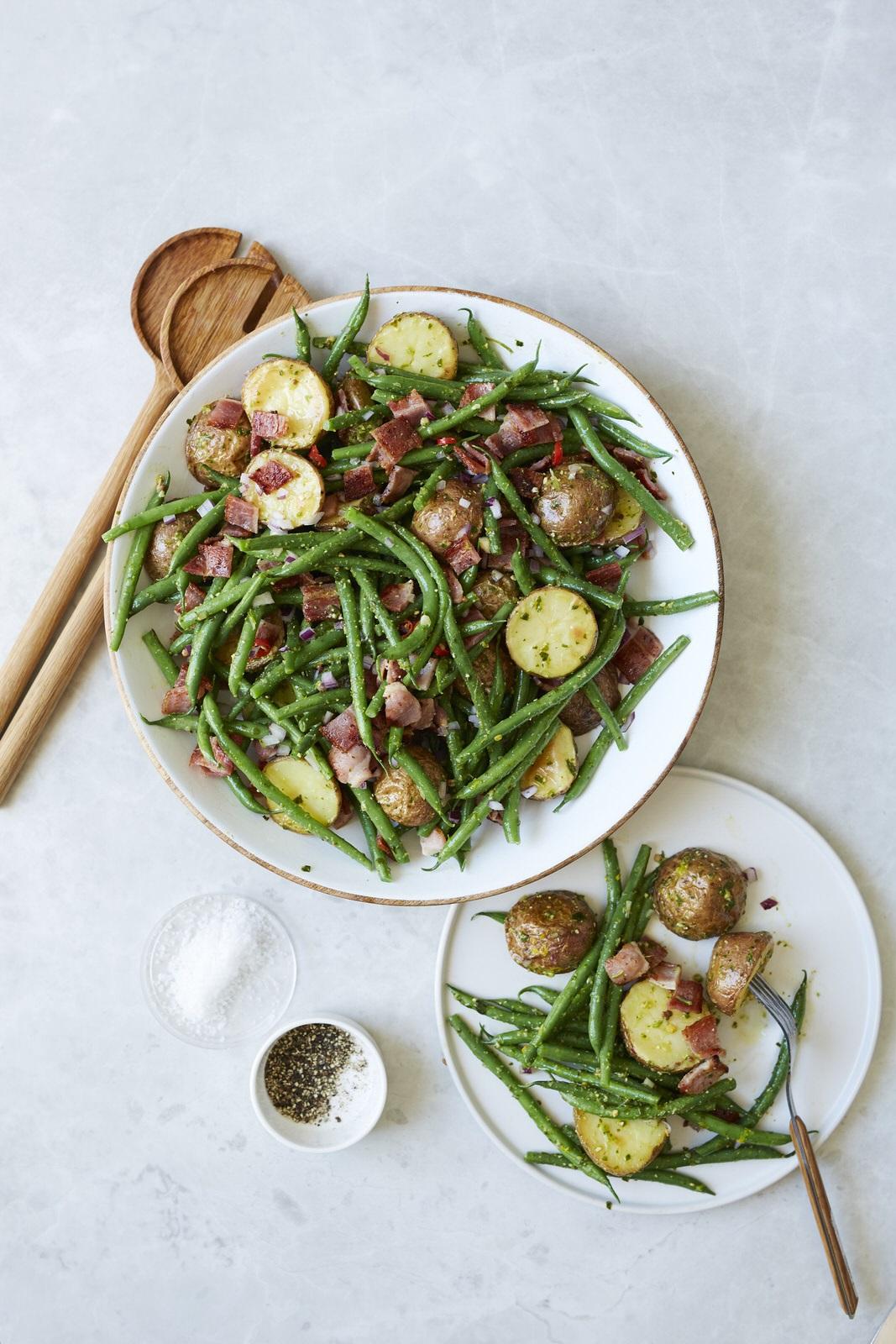 Pesto Princess Bacon and Potato Salad
