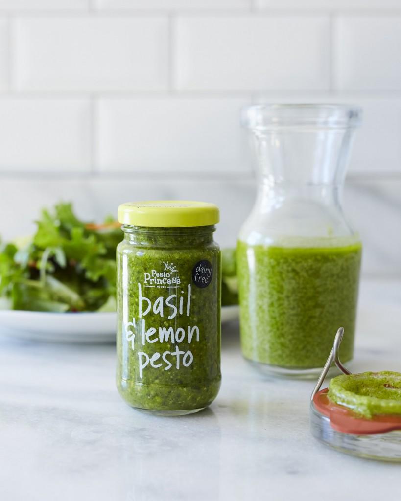 Pesto Princess © Pesto Princess Basil and Lemon Vinaigrette