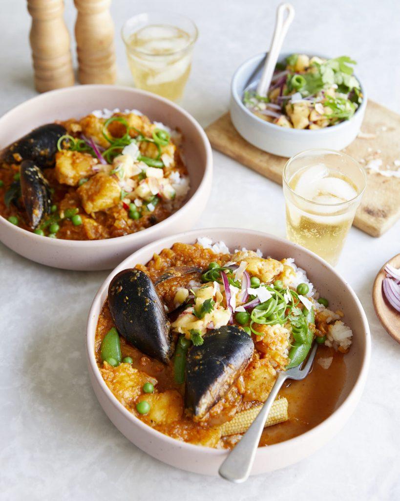 Pesto Princess © Seafood Curry