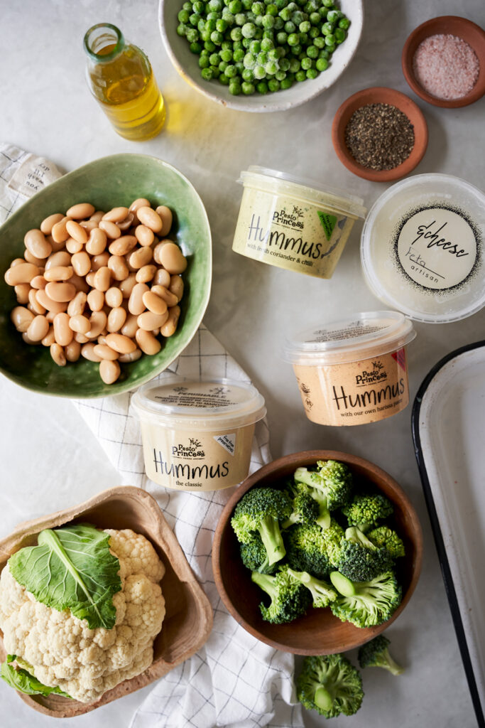 Pesto Princess © Warm Brassica and Butter Bean Salad